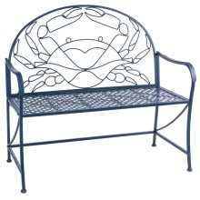 Blue Crab Bench