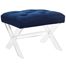 Swift Acrylic Bench in Navy