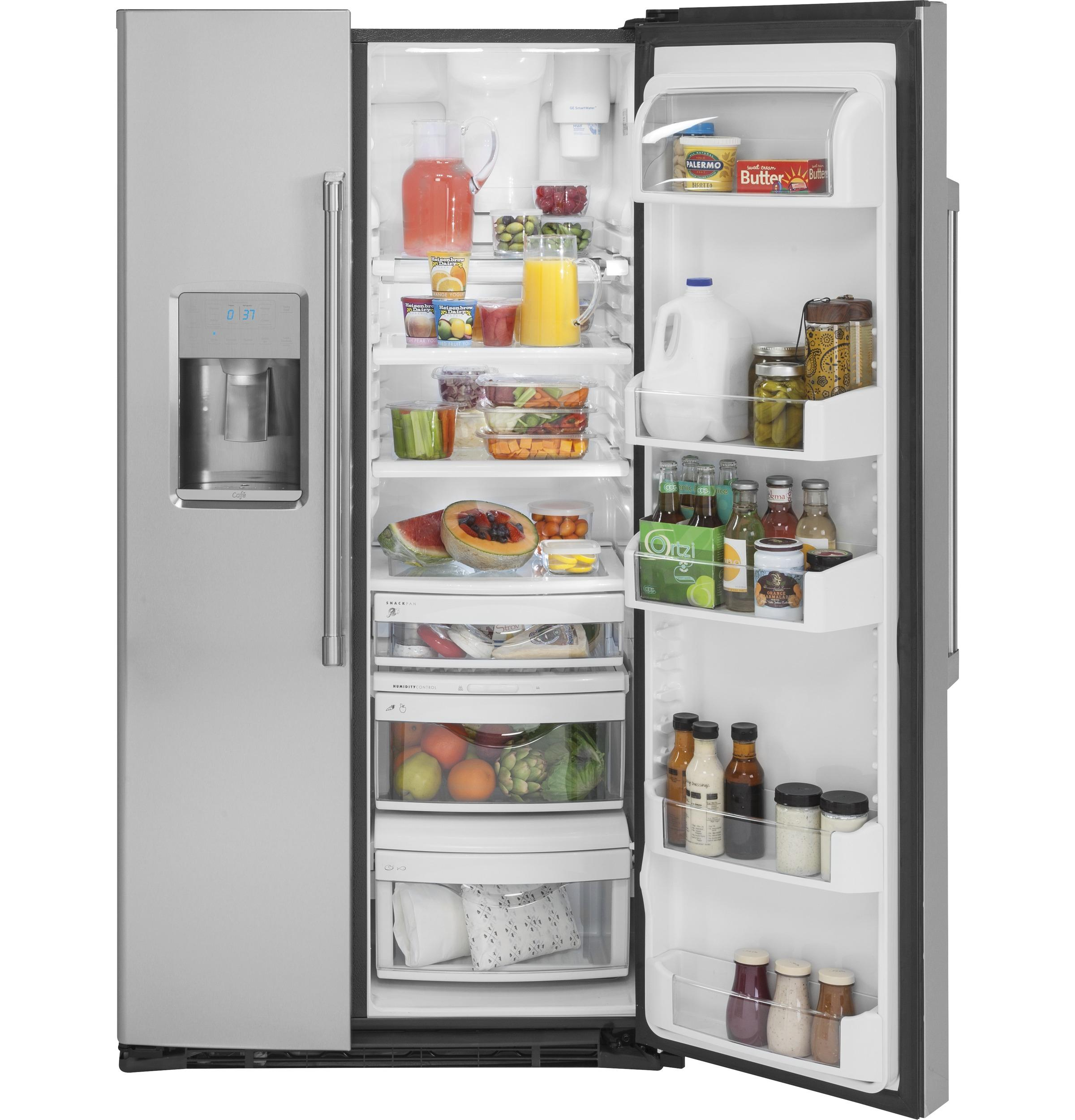 GE Cafe™ Series 21.9 Cu. Ft. Counter Depth Side By
