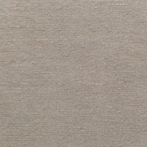 Heathered Twill Stone Cover Elyse Ottoman