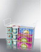 Wired Basket for Commercial Ice Cream Freezers and Dipping Cabinets Product Image