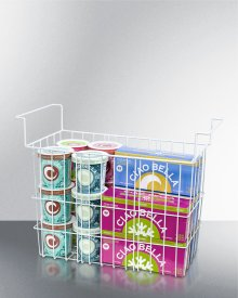 Wired Basket for Commercial Ice Cream Freezers and Dipping Cabinets