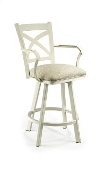 Edmonton B513H26AS Swivel Back and Arms Bar Stool