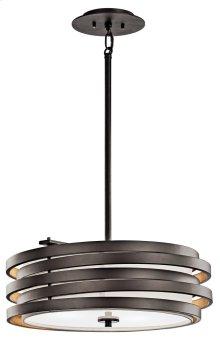 Roswell 3 Light Pendant Olde Bronze®