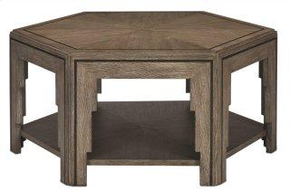 Losari Cocktail Table - 19h x 42.25w x 36.625d