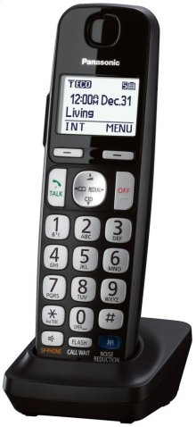 DECT 6.0 Additional Digital Cordless Handset for KX-TGE21, KX-TGE23, KX-TGE24, KX-TGE26, & KX-TGE27 Series