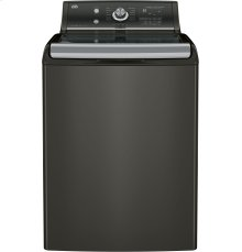 GE® 5.1 DOE cu. ft. capacity washer with stainless steel basket