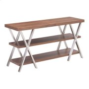 Renmen Tv Stand Walnut Product Image
