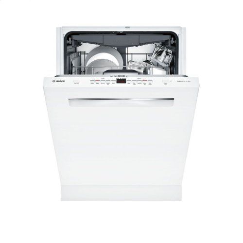 500 Series built-under dishwasher 24'' White SHP865WD2N