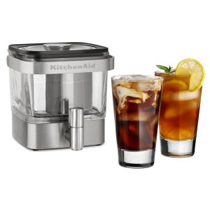 KitchenAid28 oz Cold Brew Coffee Maker - Brushed Stainless Steel