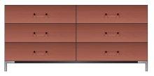 "72"" 6-Drawer Dresser"