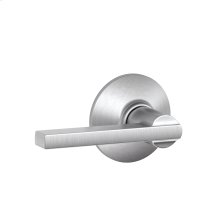 Latitude Lever Hall & Closet Lock - Satin Chrome