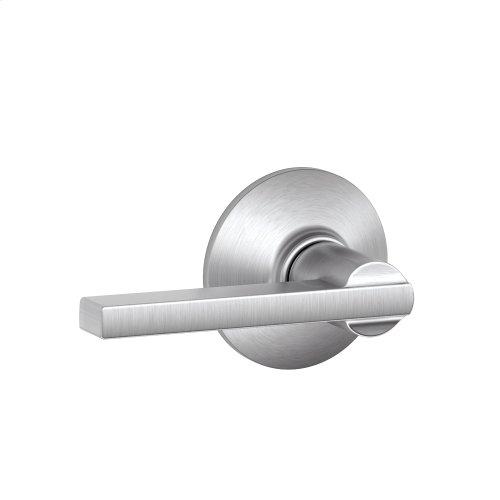 Latitude Lever Hall & Closet Lock - Satin Chrome