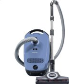 canister vacuum cleaners with turbo brush for hard floor and low, medium-pile carpeting.