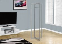 "COAT RACK - 72""H / SILVER METAL"