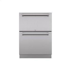 "Subzero24"" Outdoor Refrigerator Drawers - Panel Ready"