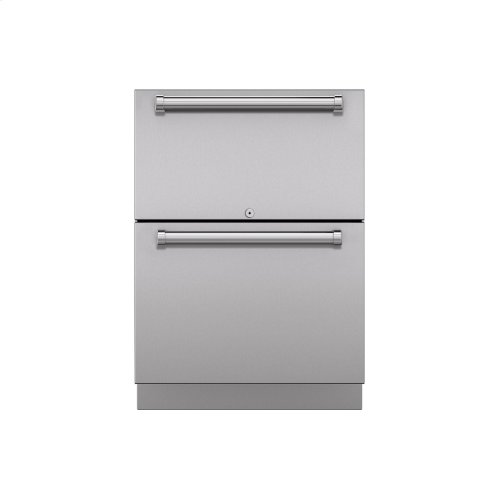 """24"""" Outdoor Refrigerator Drawers - Panel Ready"""