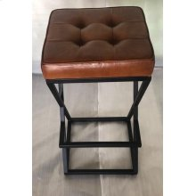 Brooks Leather Stool- Saddle