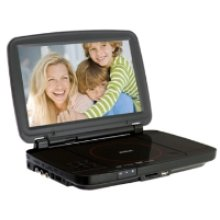 "10"" Portable DVD Player with USB Port and SD Slot"