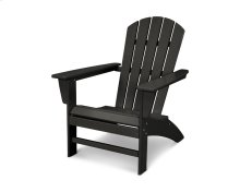 Black Nautical Adirondack Chair