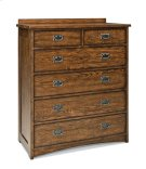Oak Park Six Drawer Standard Chest Product Image