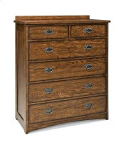 Oak Park Six Drawer Standard Chest
