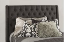 Churchill Queen Headboard - Onyx Fabric