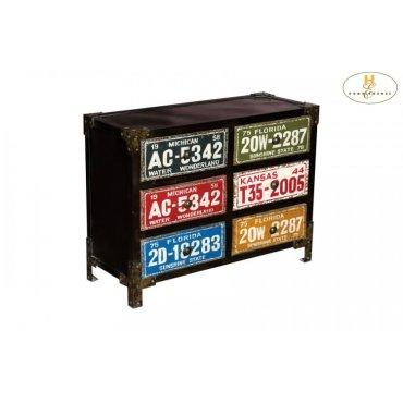 6-Drawer Cabinet