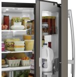 GE ®27.8 Cu. Ft. French-Door Refrigerator With Door In Door