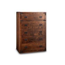 Saratoga 5 Drawer Hiboy Chest