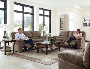 Power Lay Flat Reclining Sofa