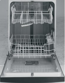 E-Star, InfiniClean™ Wash System, PermaTuf Grey Int. , PVC racks, accessory basket, 4 Cycles/3 Options, 57 dBA