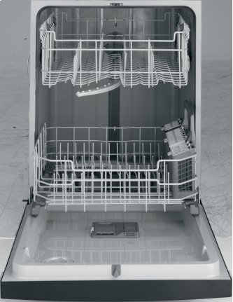 E-Star, InfiniClean(TM) Wash System, PermaTuf Grey Int. , PVC racks, accessory basket, 4 Cycles/3 Options, 57 dBA