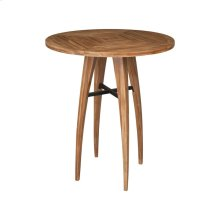 Teak Wood Bistro Table in Euro Teak Oil