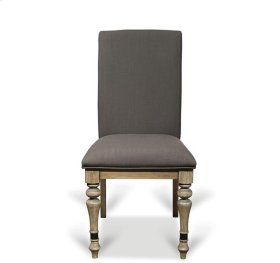 Corinne Upholstered Side Chair Sun-drenched Acacia finish