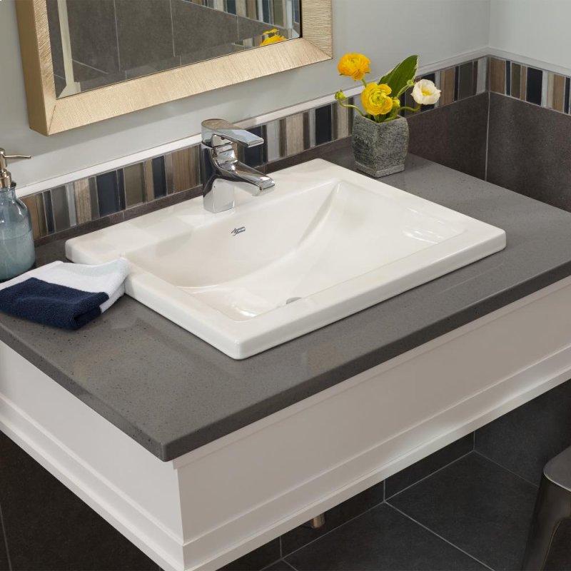 Studio Drop In Bathroom Sink American Standard White