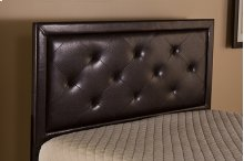Becker Queen Headboard - Brown Faux Leather