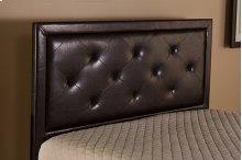 Becker Queen Headboard - Brown Faux Leather