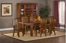 Outback 7pc Dining Set - Table With Leaf