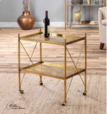 Amaranto Serving Cart