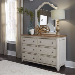 Liberty Furniture Industries6 Drawer Dresser