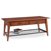 Westwood Oak Two Drawer Coffee Table - Latisse Collection Product Image
