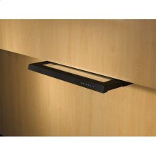 "30"" Black Built-In Range Hood with 500 CFM Internal Blower"