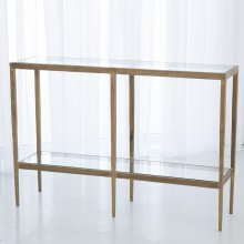 Laforge Console-Antique Gold