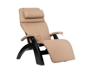 Perfect Chair PC-420 Classic Manual Plus - Sand Top Grain Leather - Matte Black