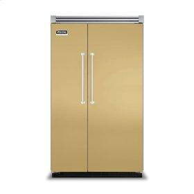 """Golden Mist 48"""" Side-by-Side Refrigerator/Freezer - VISB (Integrated Installation)"""