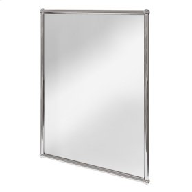 "Belgravia Frame Rectangular 20"" x 28"" Mirror - Polished Chrome"