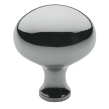 Polished Chrome Oval Knob
