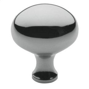 Polished Chrome Oval Knob