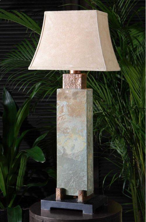 Slate Tall Table Lamp